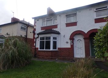 Thumbnail 3 bed semi-detached house to rent in Queens Road, Smethwick