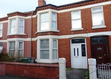 Thumbnail 3 bed terraced house for sale in Wentworth Avenue, Wallasey