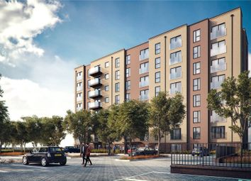 Thumbnail 2 bedroom flat for sale in Saxon Square, Kimpton Road, Luton, Bedfordshire