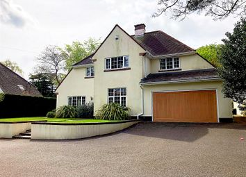 Thumbnail 4 bedroom detached house for sale in Canford Cliffs Road, Canford Cliffs, Poole
