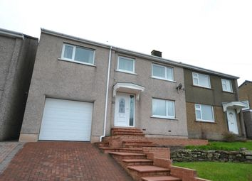 Thumbnail 4 bed semi-detached house for sale in Balmoral Road, Whitehaven, Cumbria