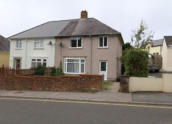 Thumbnail 3 bed semi-detached house for sale in Treowen Road, Pembroke Dock, Sir Benfro