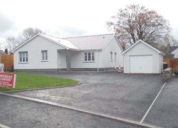 Thumbnail 3 bed detached bungalow for sale in New Development Heol Y Cwm, Cross Inn, Llandysul, Ceredigion