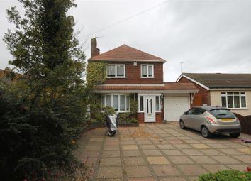 Thumbnail 3 bed detached house for sale in Wood Lane, Willenhall