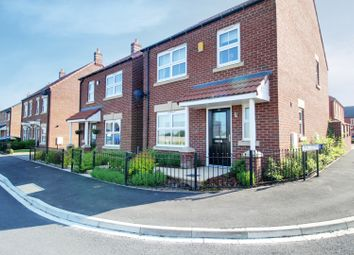 Thumbnail 3 bed detached house for sale in Foundry Way, Leeming Bar, North Yorkshire