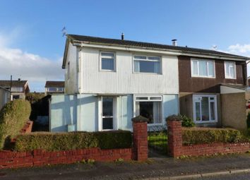 Thumbnail 3 bed semi-detached house for sale in 45 St. Illtyds Road, Bridgend, Bridgend