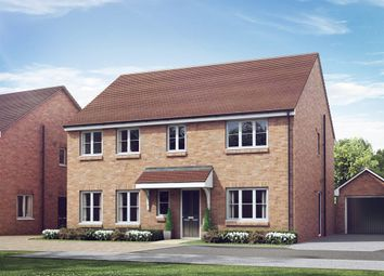 "Thumbnail 5 bed detached house for sale in ""The Holborn"" at The Gallops, High Street, East Ilsley, Newbury"