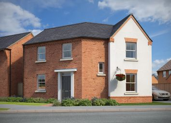"Thumbnail 3 bedroom detached house for sale in ""Fairway"" at Rush Lane, Market Drayton"