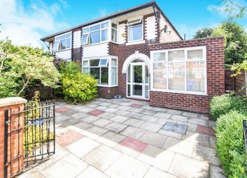 Thumbnail 3 bed semi-detached house for sale in St. Werburghs Road, Chorlton, Manchester, Greater Manchester