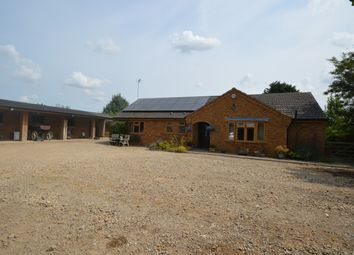 Thumbnail 3 bed detached bungalow for sale in Wisbech Road, Outwell, Wisbech, Cambridgeshire