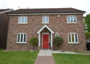 Thumbnail 4 bed detached house to rent in Little Orchard, Hook, Goole