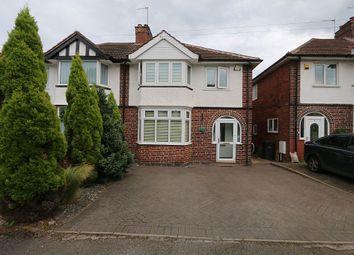 Thumbnail 3 bedroom semi-detached house for sale in Wentworth Park Avenue, Harborne, Birmingham, West Midlands