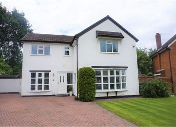 Thumbnail 4 bed detached house for sale in Silverdale Road, Gatley, Cheadle