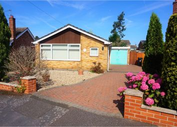 Thumbnail 2 bed detached bungalow for sale in Dovedale Close, Grantham