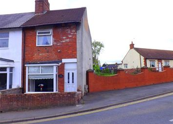 Thumbnail 2 bed end terrace house for sale in Skinner Street, Creswell, Worksop