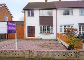 Thumbnail 3 bedroom semi-detached house for sale in Simmonds Close, Walsall