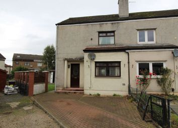 Thumbnail 3 bed end terrace house for sale in Langside Avenue, Kilmarnock