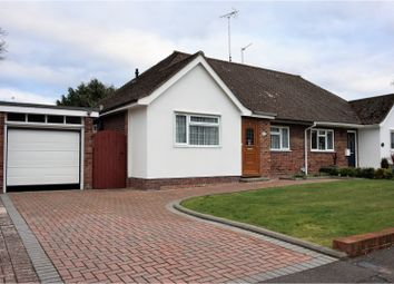 Thumbnail 2 bed semi-detached bungalow for sale in Chesilton Crescent, Fleet