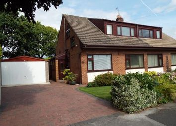 Thumbnail 3 bed semi-detached house for sale in Powicke Drive, Romiley, Stockport, Greater Manchester