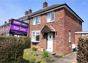 Thumbnail 3 bed end terrace house for sale in Mendip Avenue, Scartho