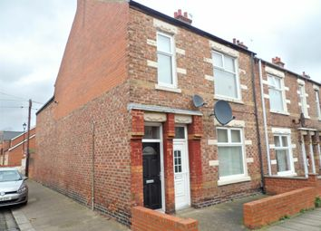 Thumbnail 3 bedroom flat for sale in Leighton Street, South Shields