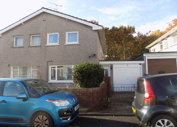 Thumbnail 3 bed semi-detached house for sale in South Close, Pencoed, Bridgend.