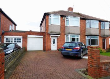 Thumbnail 3 bed semi-detached house for sale in Melville Grove, High Heaton, Newcastle Upon Tyne