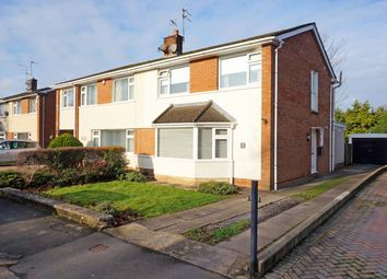 Thumbnail 3 bedroom semi-detached house for sale in Harlech Drive, Dinas Powys