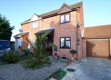 Thumbnail 2 bedroom semi-detached house for sale in Lowry Gardens, Ipswich