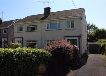 Thumbnail 3 bed semi-detached house for sale in Cilonnen Road, Three Crosses, Swansea
