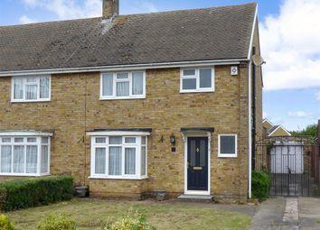 Thumbnail 3 bedroom semi-detached house for sale in Laburnum Drive, Larkfield, Aylesford, Kent