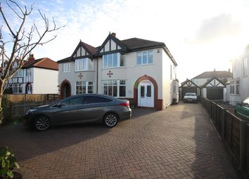 Thumbnail 3 bed semi-detached house for sale in Victoria Road West, Thornton-Cleveleys, Lancashire