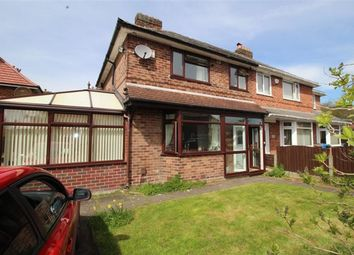 Thumbnail 3 bed semi-detached house to rent in Denville Crescent, Manchester