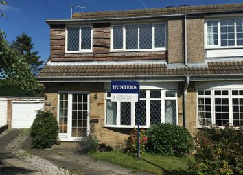Thumbnail 3 bed semi-detached house for sale in Studdley Crescent, Gilstead, Bingley