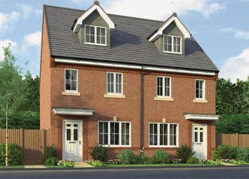 "Thumbnail 3 bedroom town house for sale in ""The Tolkien"" at Park Road South, Middlesbrough"