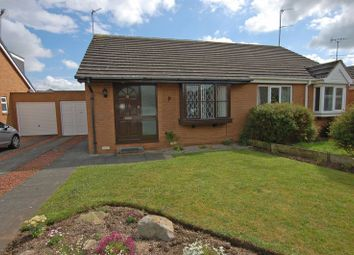 Thumbnail 2 bed semi-detached bungalow to rent in Eland Edge, Ponteland, Newcastle Upon Tyne