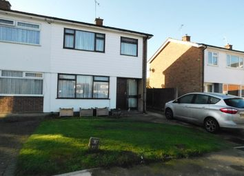 Thumbnail 3 bed semi-detached house for sale in Broomspath Road, Stowupland, Stowmarket