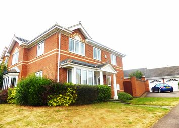 Thumbnail 4 bed detached house to rent in Gillingham Road, Kettering