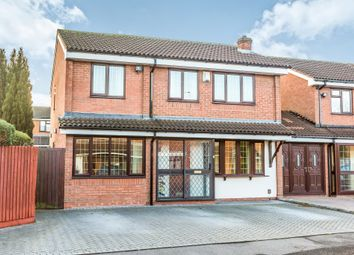 Thumbnail 4 bed detached house for sale in Redwood Drive, Tividale, Oldbury