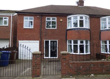 Thumbnail 4 bed semi-detached house for sale in Etherstone Avenue, Cochrane Park, Newcastle Upon Tyne