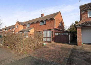 Thumbnail 3 bed semi-detached house for sale in Fairgreen Road, Caddington, Luton, Bedfordshire