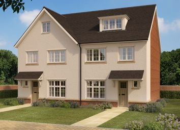 Thumbnail 4 bedroom semi-detached house for sale in Nine Mile Ride Extension, Arborfield, Reading