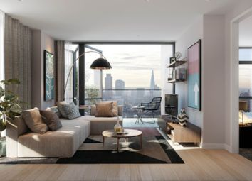 Thumbnail 2 bed flat for sale in Lots Road, London