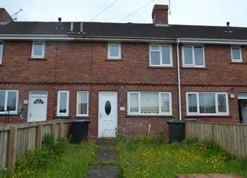 Thumbnail 2 bed terraced house to rent in Dorset Crescent, Consett