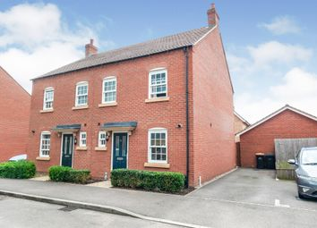 Thumbnail 3 bed semi-detached house for sale in Stedeham Road, Great Denham, Bedford