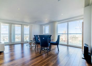 Thumbnail 3 bed flat for sale in Talisman Tower, Lincoln Plaza, London