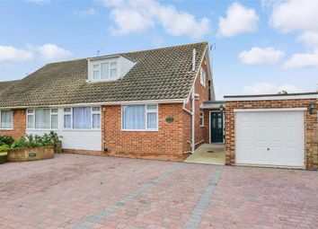 Thumbnail 3 bed bungalow for sale in Burleigh Close, Rochester, Kent