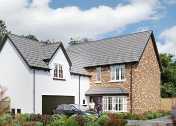 "Thumbnail 5 bed detached house for sale in ""The Langham"" at Dark Lane, Whatton, Nottingham"