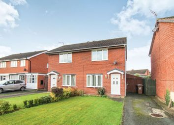 Thumbnail 2 bed semi-detached house for sale in Balmoral Crescent, Oswestry