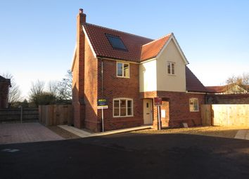 Thumbnail 3 bed detached house for sale in Town Green, Wymondham